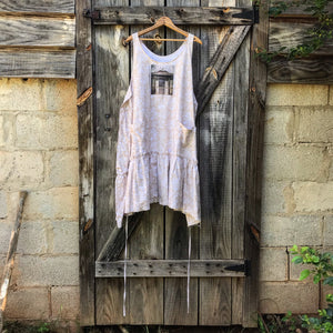 Back Porch Short Ruby Dress