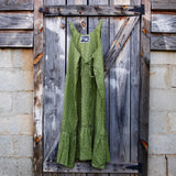Green Calico Ruby Dress Maxi