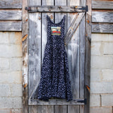 Black Bandana Ruby Dress Maxi