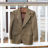 Brown Polyester Jacket