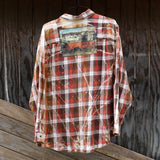 Milk Truck Flannel 3XL