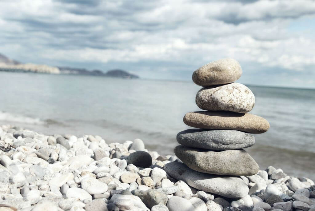 stacked stones - Benzodiazepine Withdrawal treatment