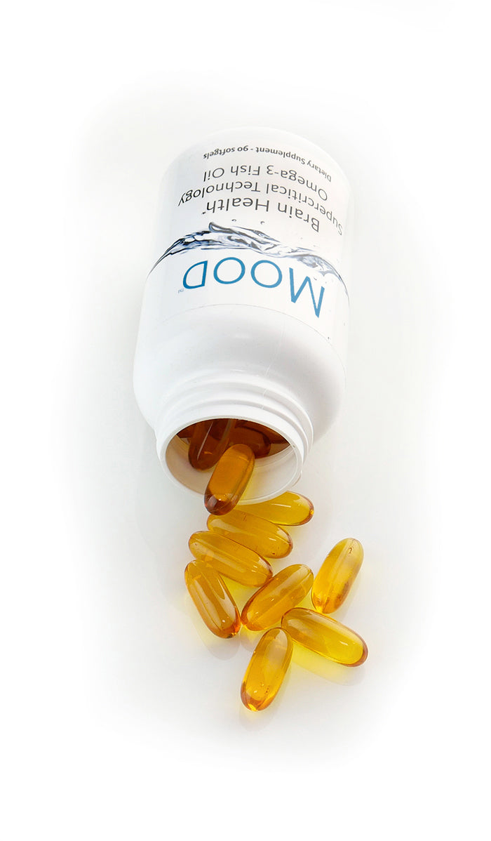 Mood - unmatched omega-3 for brain and nervous system support