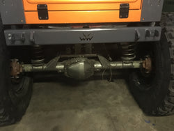 TJ, YJ, CJ7 Rear Bumper