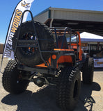 TJ, YJ, CJ7 Rear Bumper and Swing Down Tire Carrier