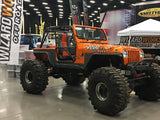 TJ, YJ, CJ7 Tube Fenders with Inners
