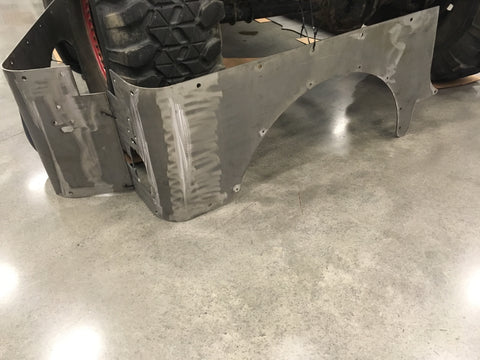 TJ, YJ, CJ7 Rear Armor