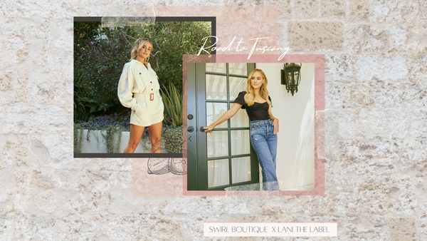 Virtual Trunk Show with Amanda Stanton founder of Lani the Label