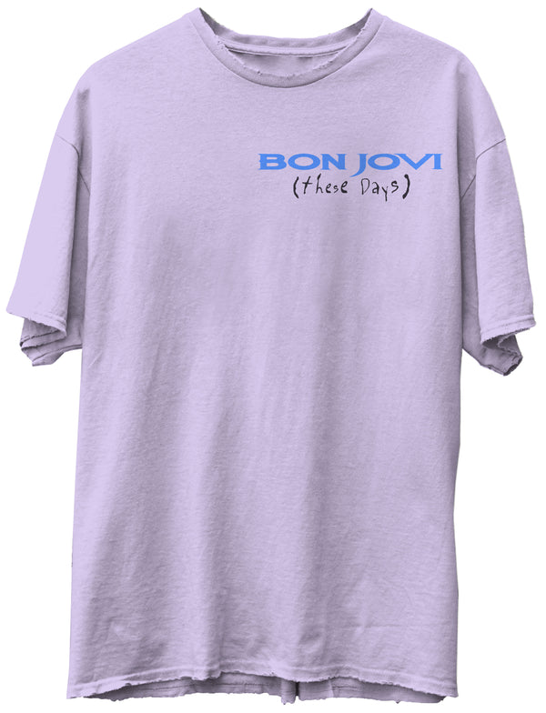 JUNK FOOD CLOTHING - BON JOVI EUROPE TEE