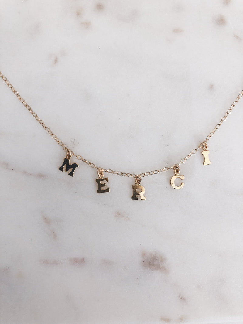 MAC & RY JEWELRY - KEEP IT REAL NAME NECKLACE