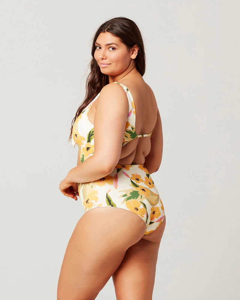 L*SPACE - ECO CHIC ECONYL® KYLIE ONE PIECE SWIMSUIT