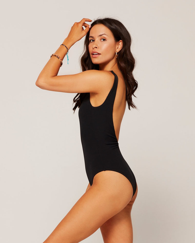 L*SPACE - RIBBED ARIZONA ONE PIECE SWIMSUIT