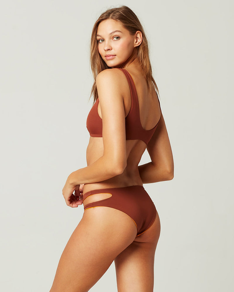 L*SPACE - ONE WAVE BIKINI TOP