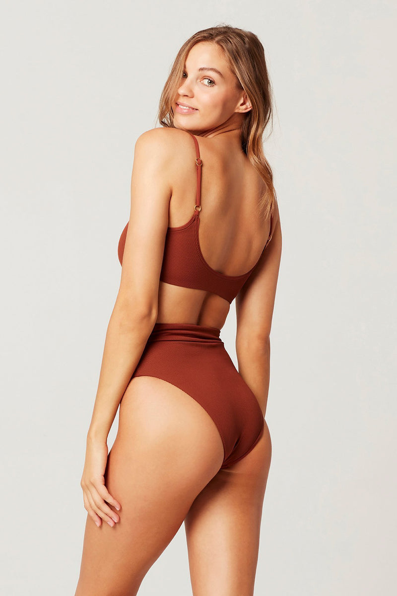 L*SPACE - RIBBED LUKE BIKINI BOTTOM