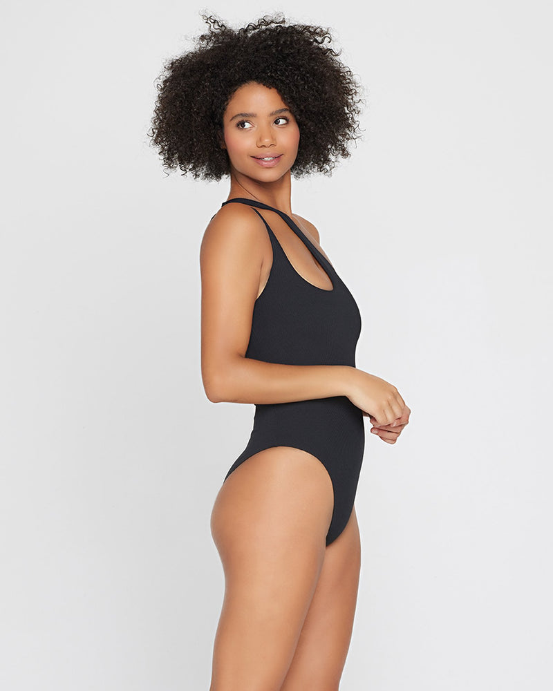 L*SPACE - RIBBED PHOEBE ONE PIECE SWIMSUIT