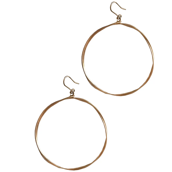 LUSH JEWELRY - TWISTED HOOPS