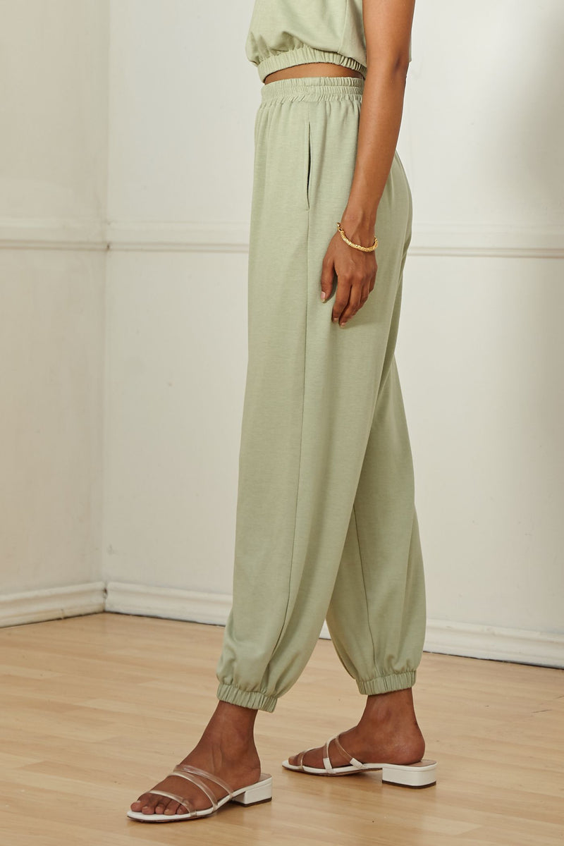 SAGE THE LABEL - LUXE LOUNGE KNIT PANTS
