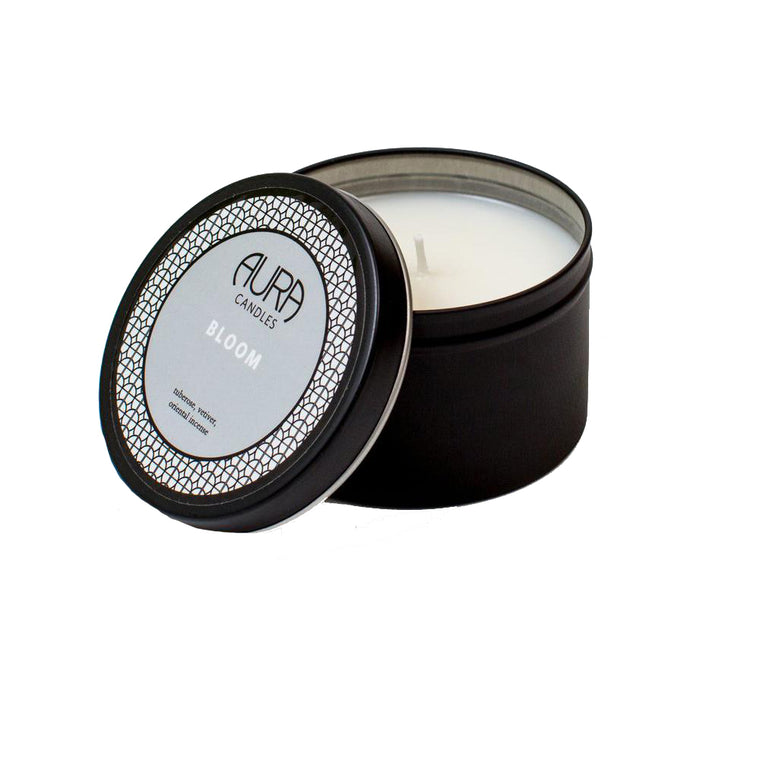 AURA CANDLES - BLOOM TRAVEL CANDLE