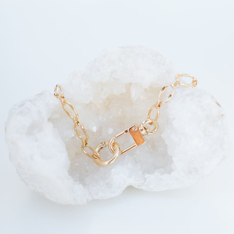 M.E.A. DESIGNS - CUFFED CHAIN NECKLACE