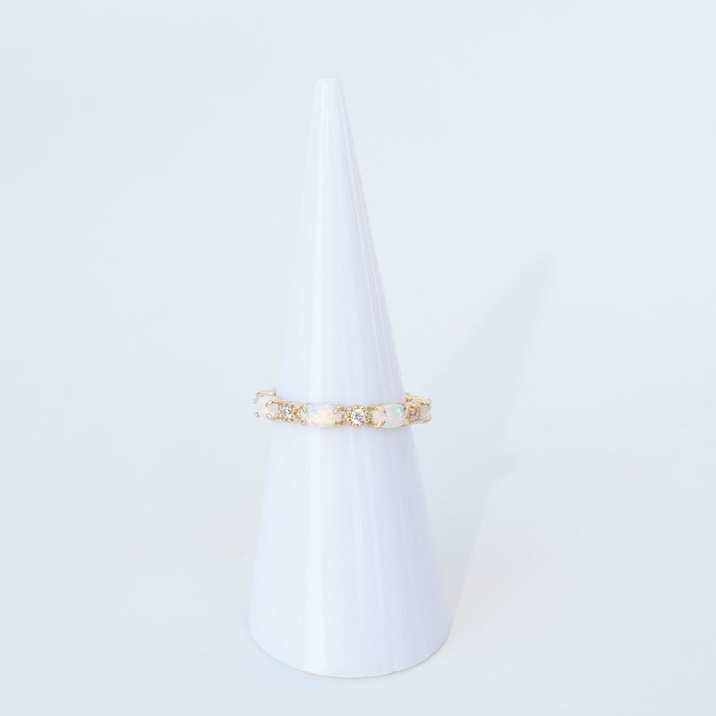 RAPTOR JEWELRY - GOLD OPAL BAND