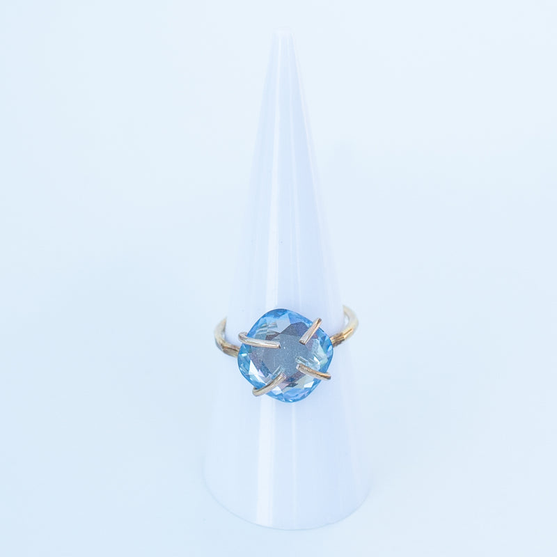 MAC & RY JEWELRY - CLAW RING WITH SAPPHIRE