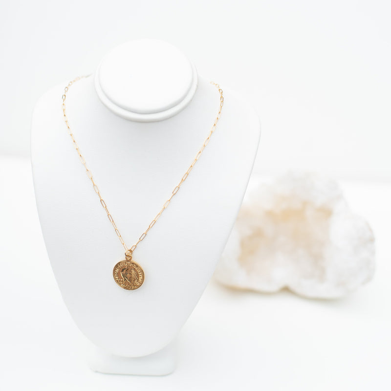 LUSH JEWELRY - COIN NECKLACE