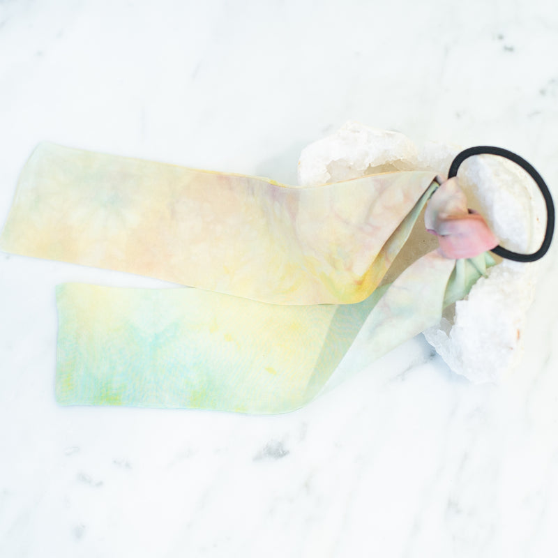 & EVERYTHING NICE BEBE - MULTICOLOR HAIR SCARF