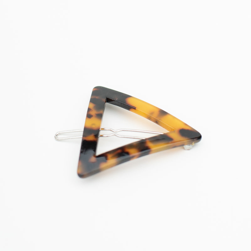 & EVERYTHING NICE BEBE - DARK TORTOISE TRIANGLE BARRETTE
