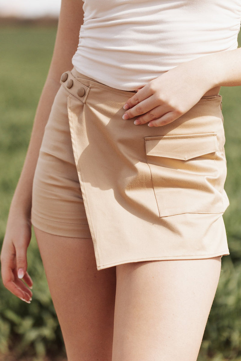 SHADES OF ROSE - EDEN SKORT