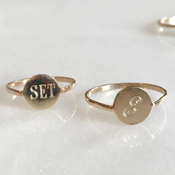 SET & STONES - PENELOPE RING (CUSTOM AVAILABLE)