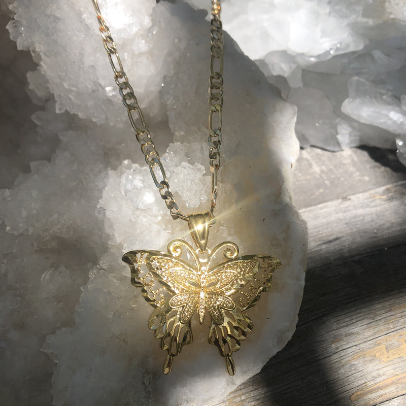 RAPTOR JEWELRY - ANDONIS BUTTERFLY NECKLACE