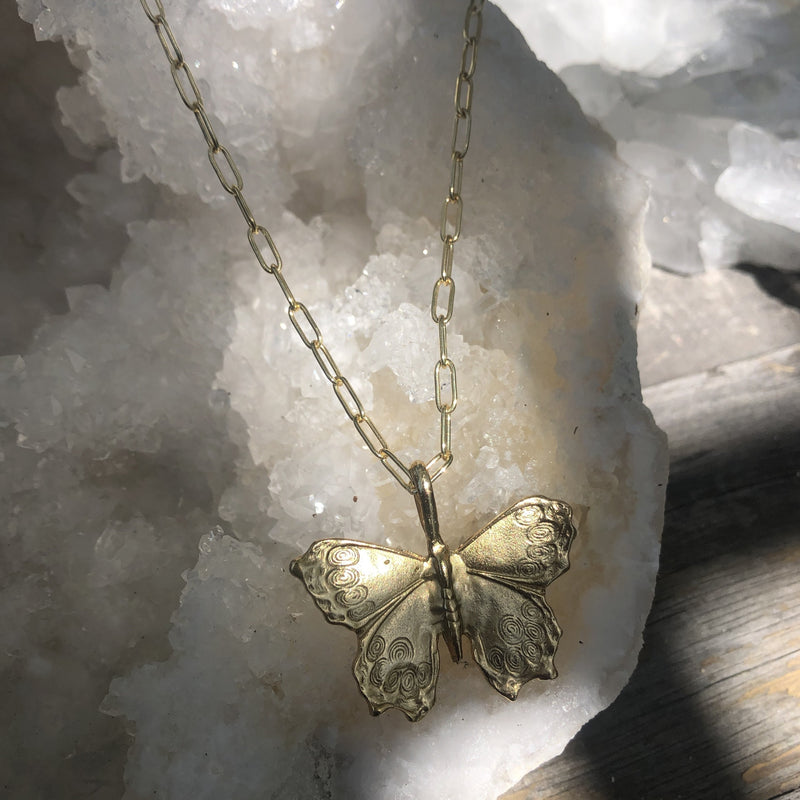 RAPTOR JEWELRY - MARIPOSA PAPERCLIP CHAIN