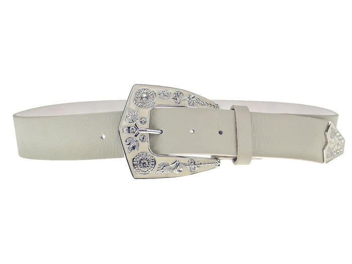 LOVESTRENGTH-LARAMIE BELT IN NATURAL