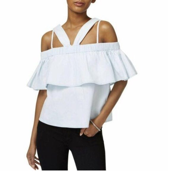 MINKPINK - CLOUD NINE COLD SHOULDER TOP