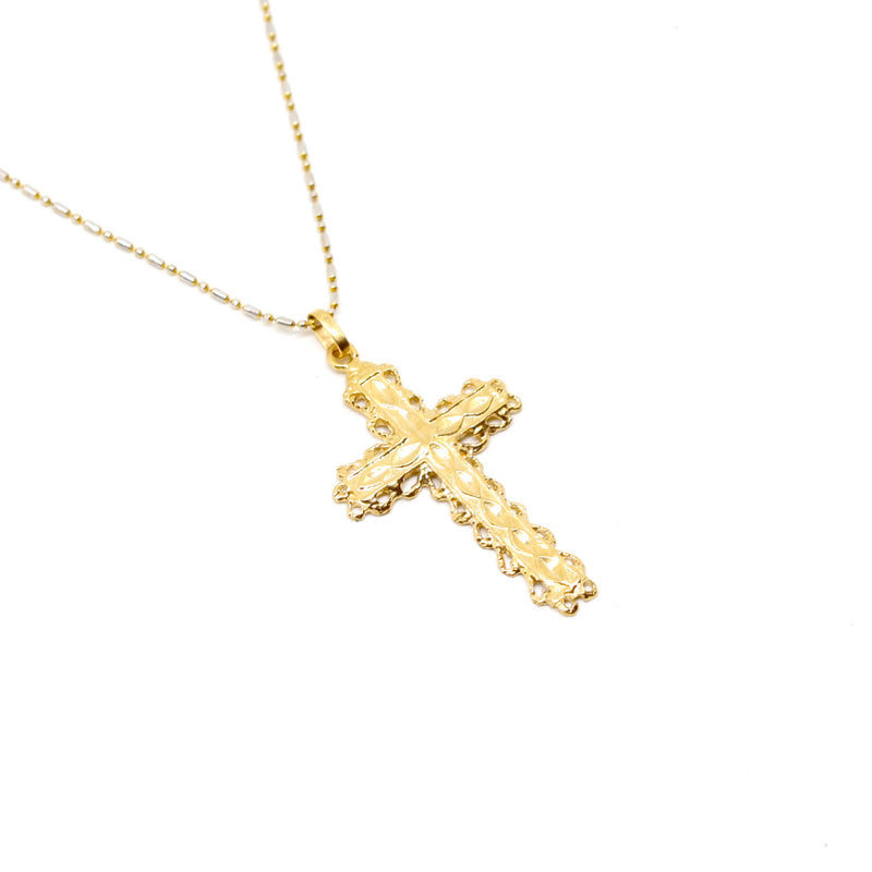 JNB JEWELRY - ST DIANA CROSS NECKLACE