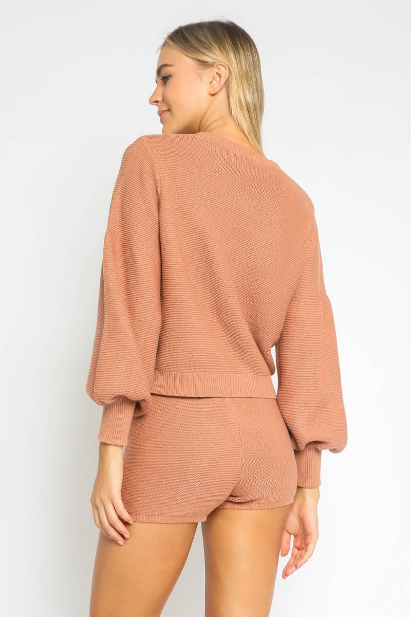 OLIVACEOUS - TENLEY SWEATER