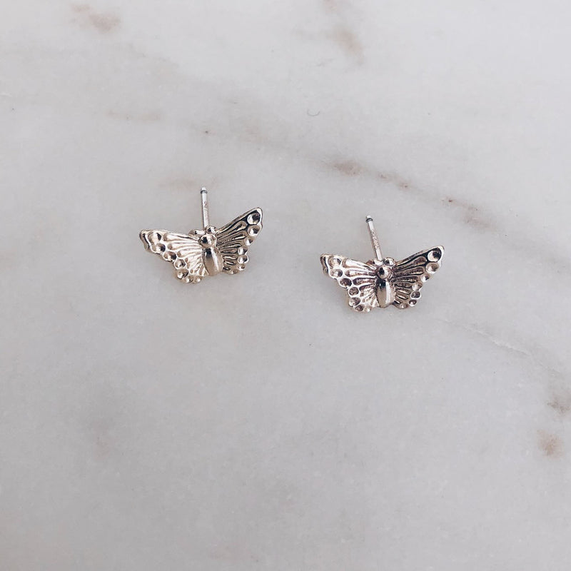 MAC & RY JEWELRY - MINI BUTTERFLY STUD EARRINGS