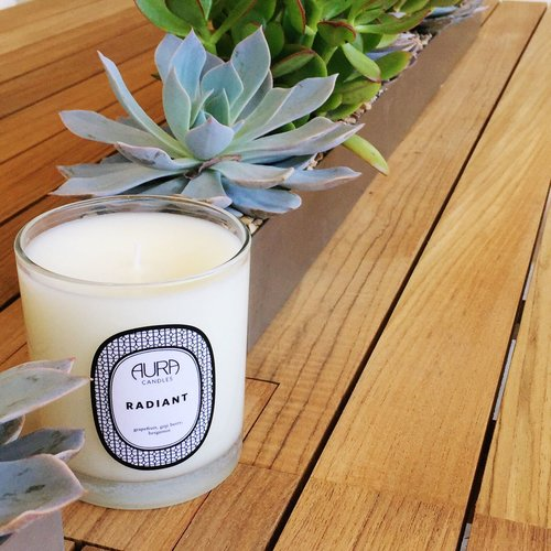 AURA CANDLES - RADIANT EVERYDAY CANDLE