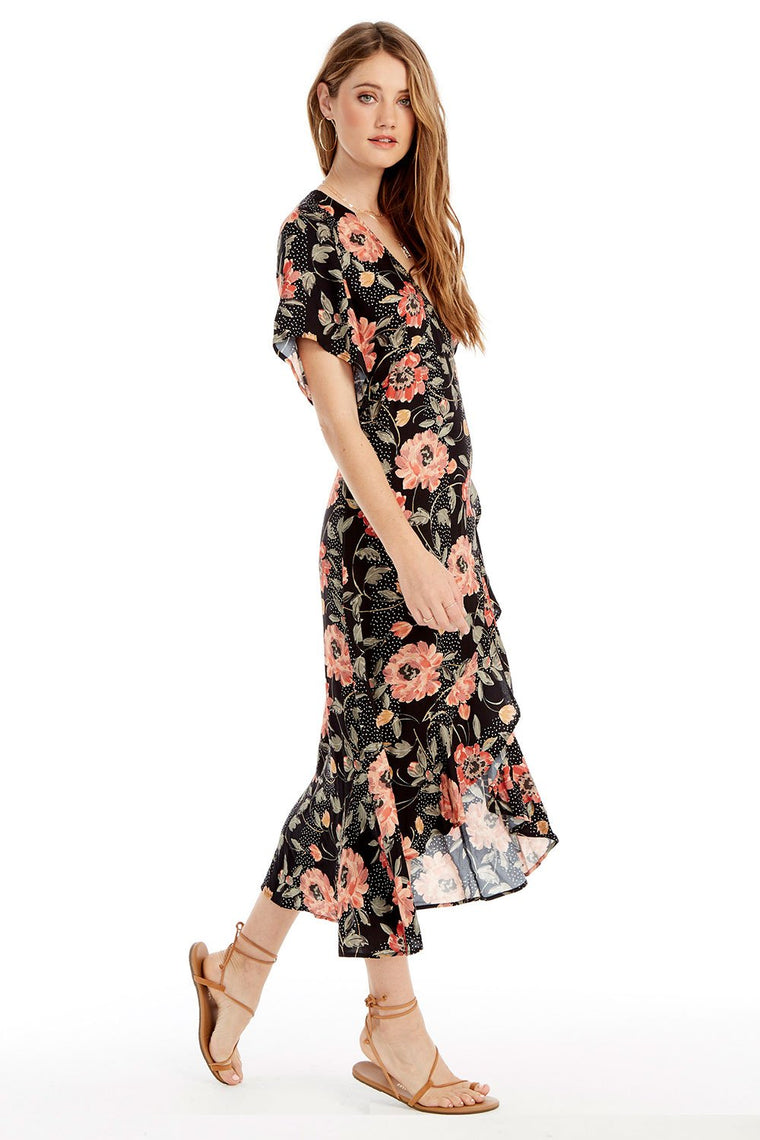 SALTWATER LUXE - ORCHID MIDI DRESS