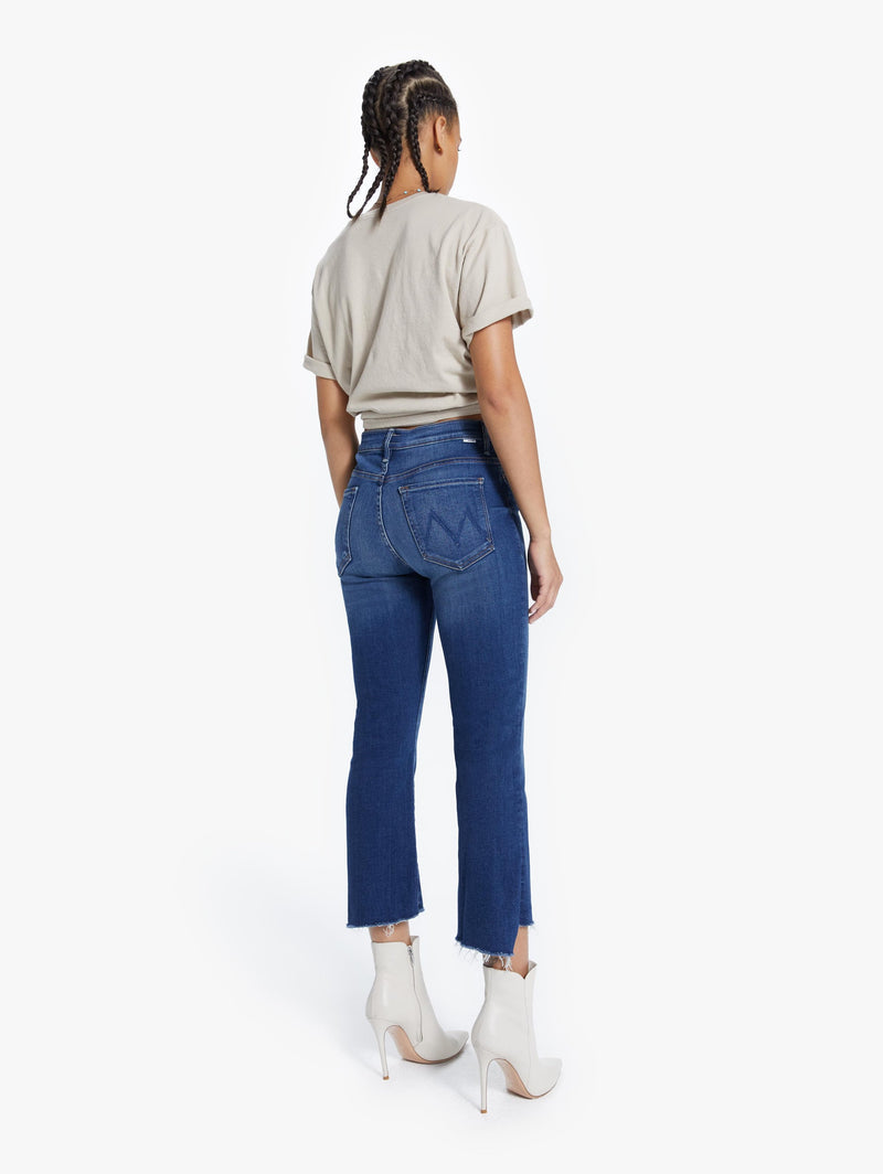 MOTHER DENIM - INSIDER CROP STEP FRAY