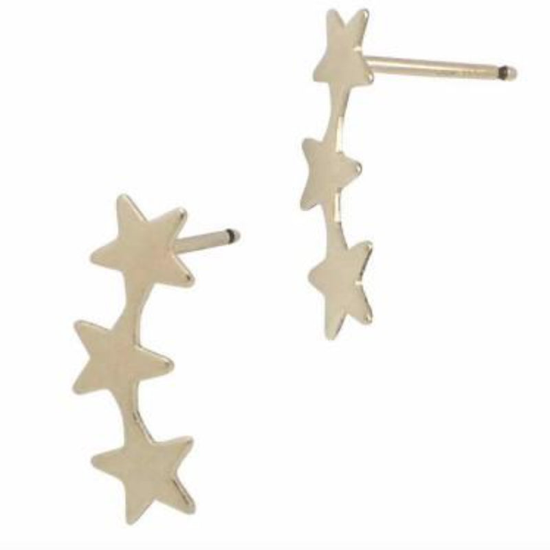 JNB JEWELRY - SHOOTING STAR STUDS