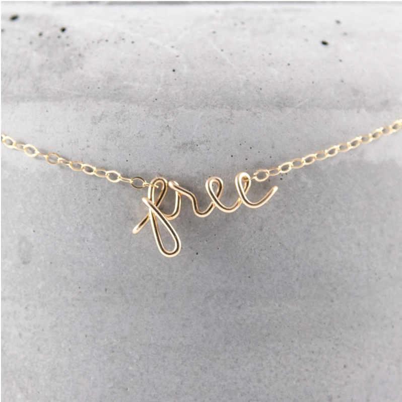 WIRED FOR FREEDOM - SPEAK IT NECKLACE
