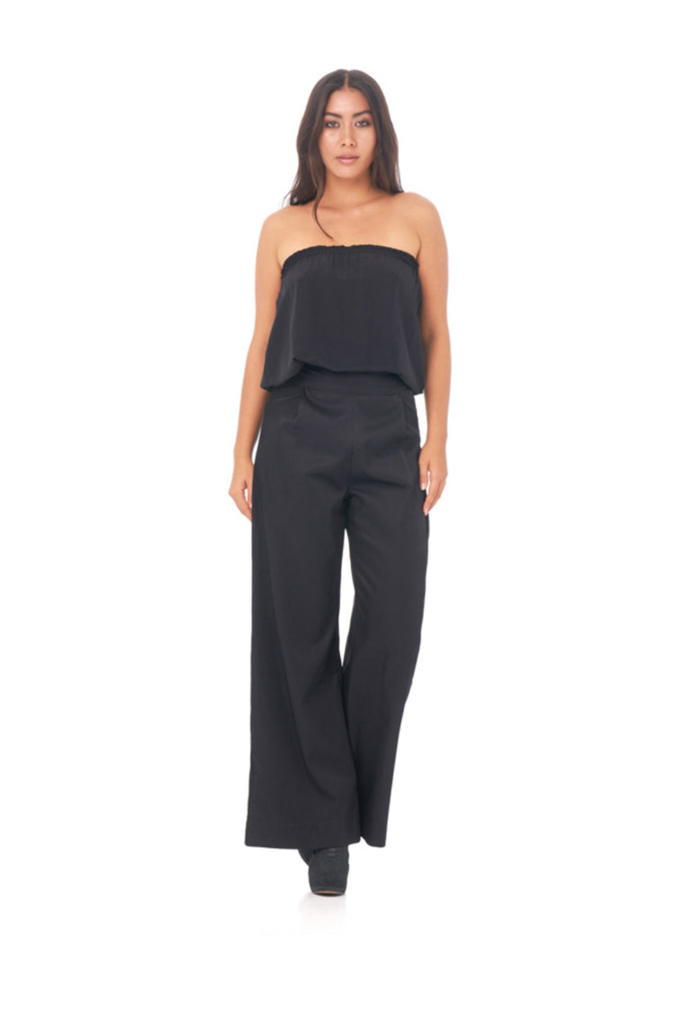 INDAH CLOTHING - GEMMA SOLID TUBE TOP BLACK