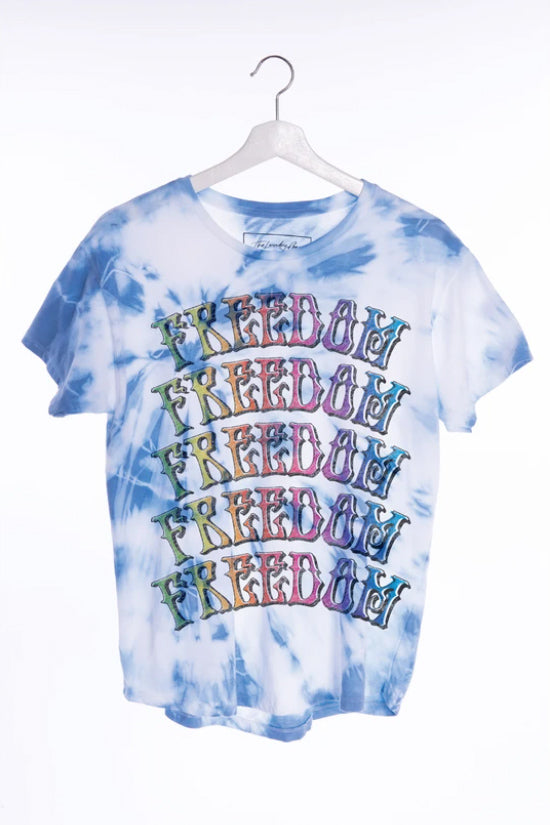 THE LAUNDRY ROOM - FREEDOM CLASSIC TEE AQUAMARINE