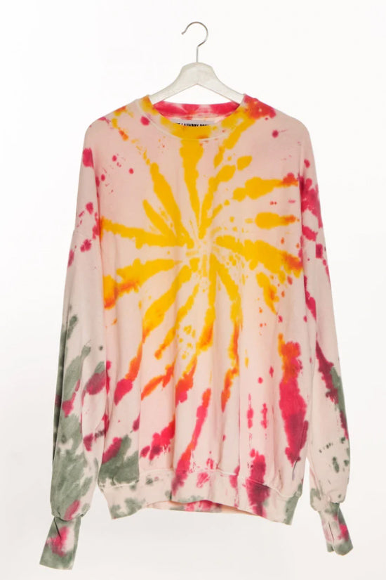 THE LAUNDRY ROOM - JUMP JUMPER NEON TIE DYE