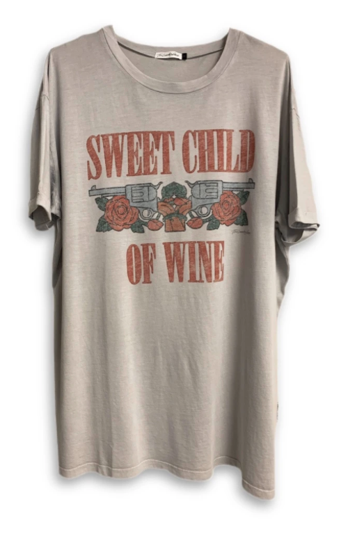 THE LAUNDRY ROOM - SWEET CHILD OF WINE TEE