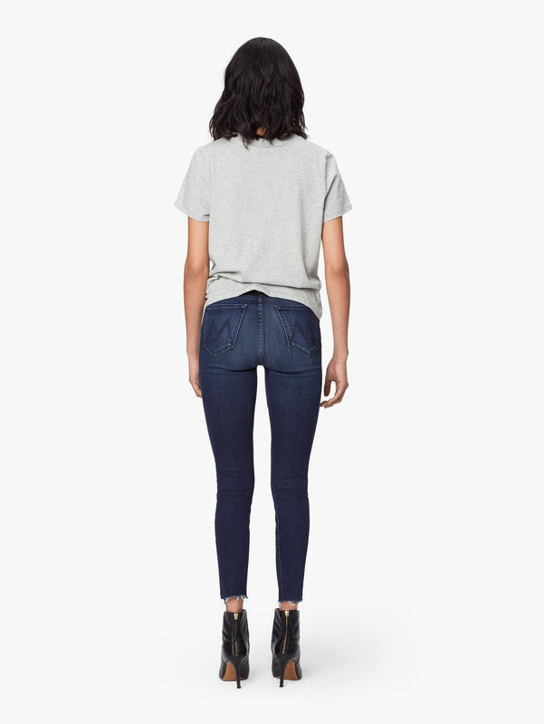MOTHER DENIM- HIGH WAISTED LOOKER ANKLE FREY