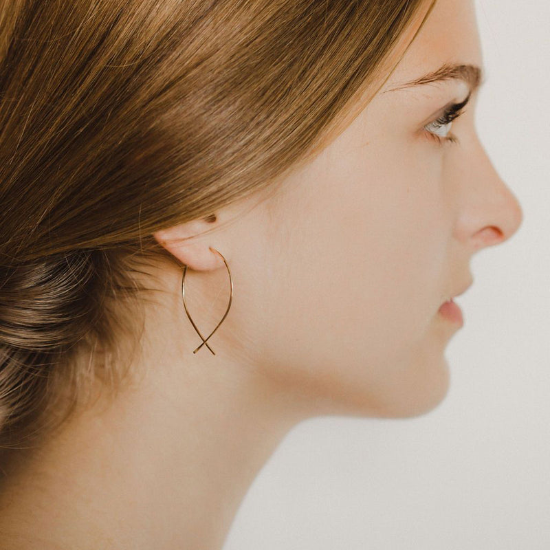 TERESSA LANE - GOLD DORI EARRINGS