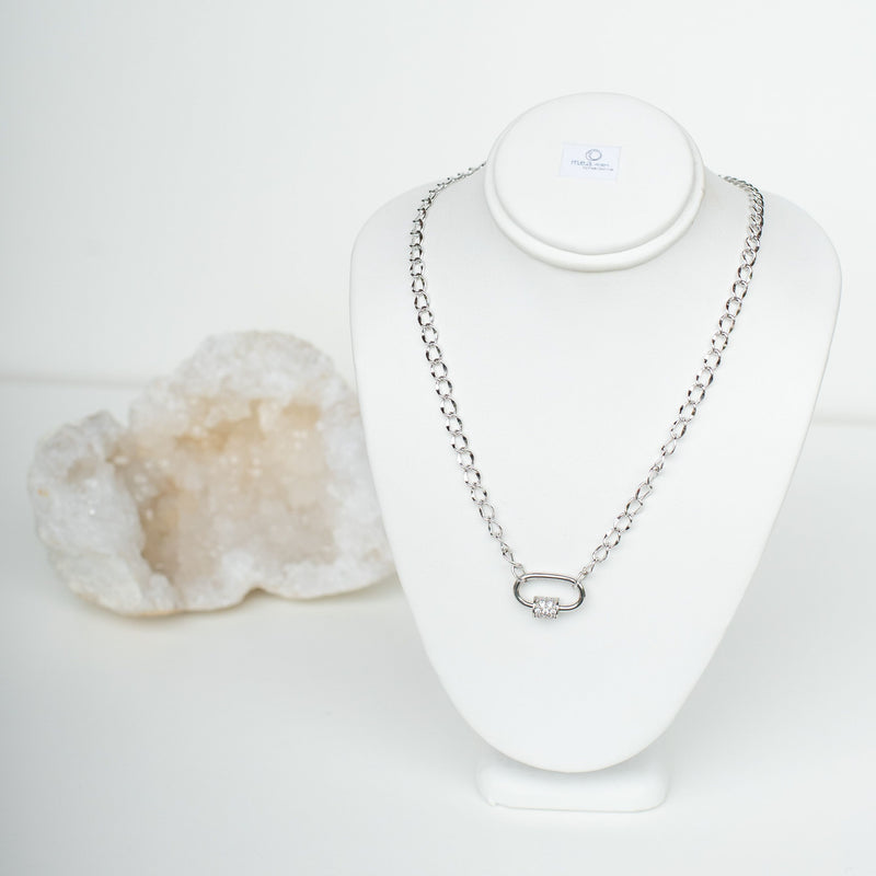 M.E.A. DESIGNS - SILVER CHAIN NECKLACE