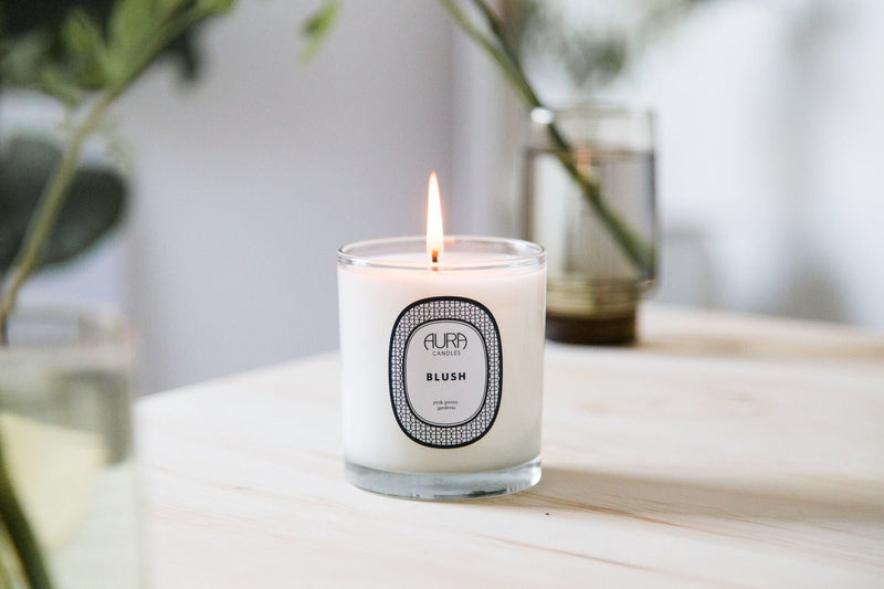 AURA CANDLES - BLUSH EVERYDAY CANDLE